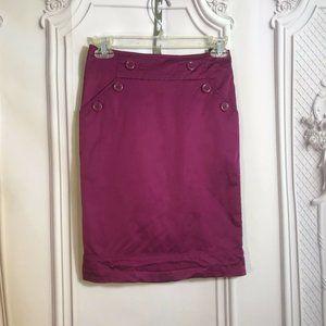 hm pencil skirt size 2